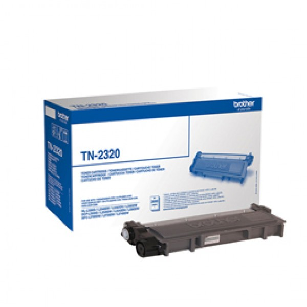 Brother - Toner - Nero - TN2320 - 2600 pag