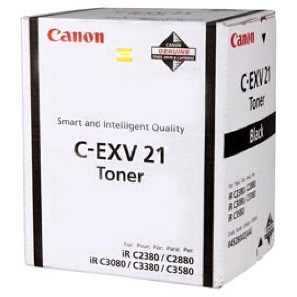 Originale Canon 0452B002AA Toner C-EXV21BK nero - 0452B002AA