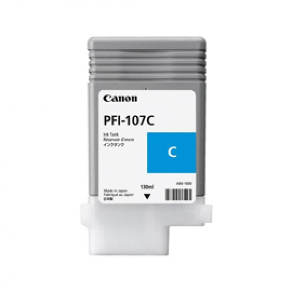 INK CARTRIDGE PFI-107C CIANO 130ml - 6706B001