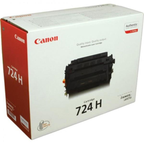 Originale Canon 3482B002 Toner alta capacità CRG 724H nero - 3482B002