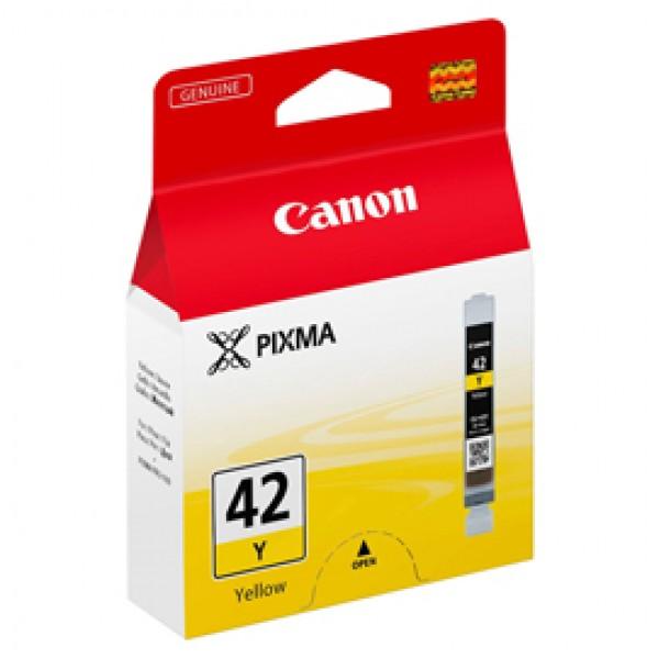 Originale Canon 6387B001 Serbatoio Chromalife 100+ CLI-42 Y giallo - 6387B001