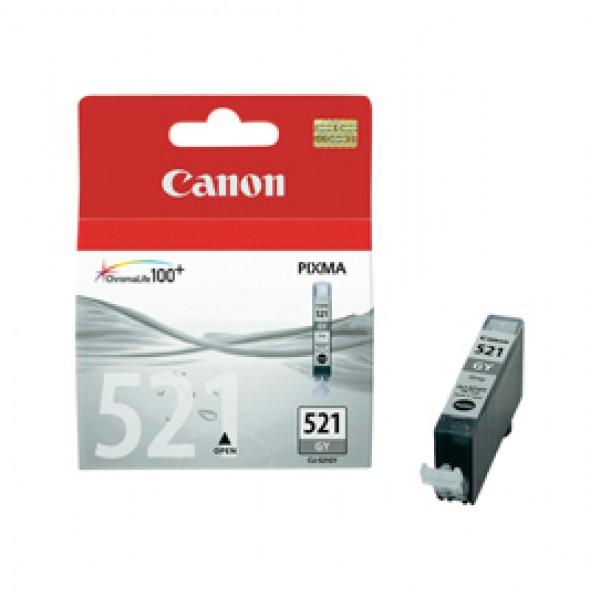 Originale Canon 2937B001 Serbatoio inchiostro Chromalife 100+ CLI-521 GY grigio - 2937B001