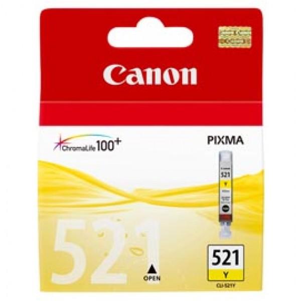 Originale Canon 2936B001 Serbatoio inchiostro Chromalife 100+ CLI-521 Y giallo - 2936B001