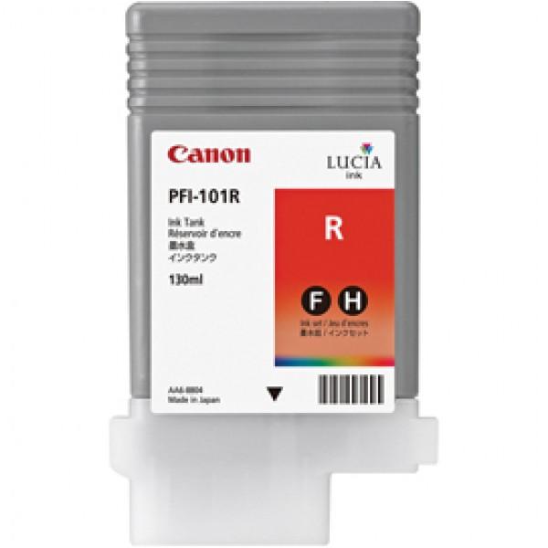 Originale Canon 0889B001AA Serbatoio inchiostro PFI-101R rosso - 0889B001AA