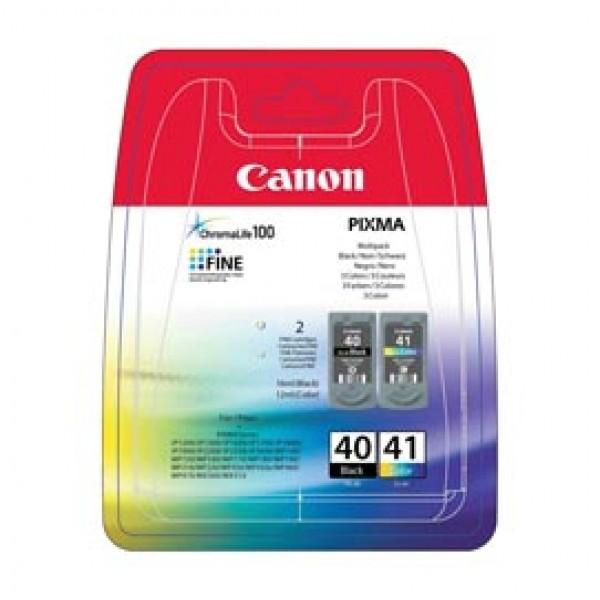Canon - Cartucce ink - C/M/Y/K - 0615B043 - C/M/Y 12ml / K 10ml