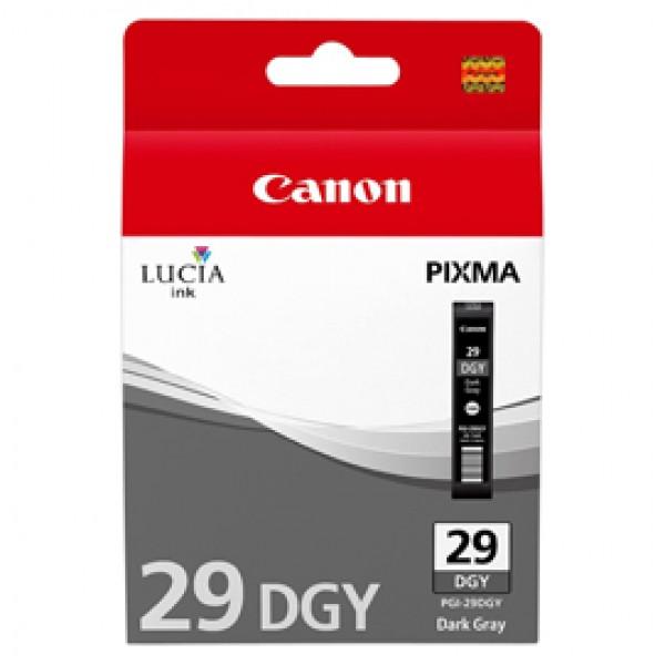 Originale Canon 4870B001 Serbatoio Chromalife 100 PGI-29 DGY grigio scuro - 4870B001