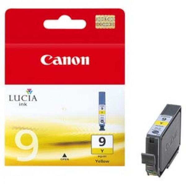 Originale Canon 1037B001 Serbatoio inchiostro Lucia (Pigmentato) PGI-9Y giallo - 1037B001