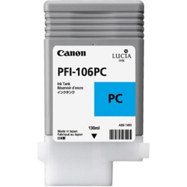 Originale Canon 6625B001AA Serbatoio PFI-106 ciano foto - 6625B001AA