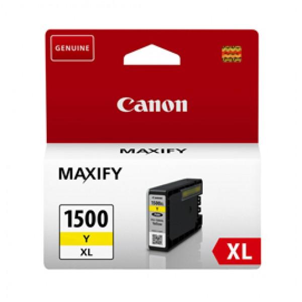 Originale Canon PGI-1500XL giallo - 9195B001 Serbatoio alta densità  - 9195B001