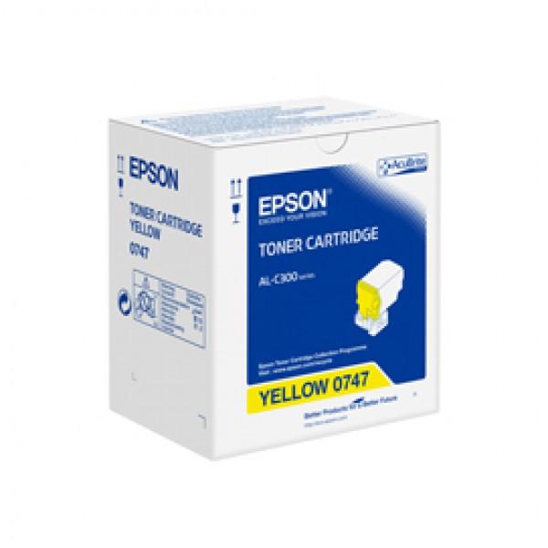 Epson - Toner - Giallo - S050747 - C13S050747 - 8.800 pag