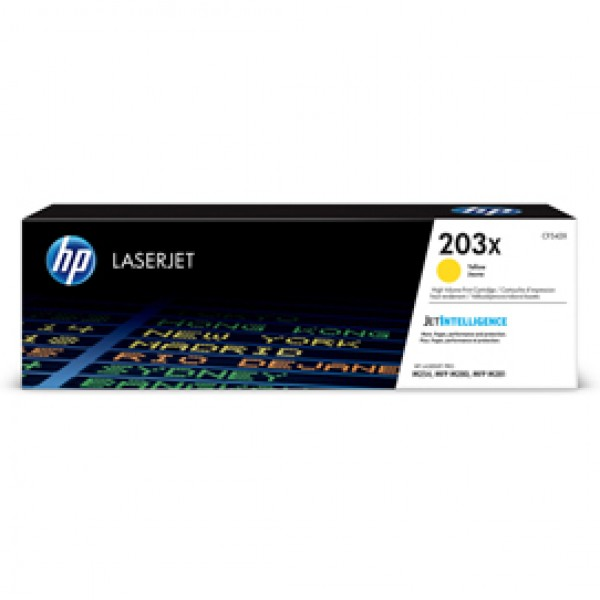 Hp - Toner - 203X - Giallo - CF542X - 2.500 pag