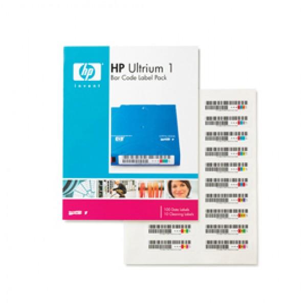 ETICHETTE PER CODICI A BARRE PER AUTOMAZIONE HP ULTRIUM 1 - Q2001A