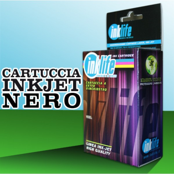 Compatibile Inklife Brother LC 127XL Nero   28 ML