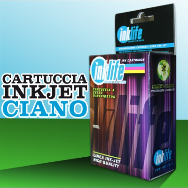 Compatibile Inklife Brother LC 1240 Ciano   12 ML