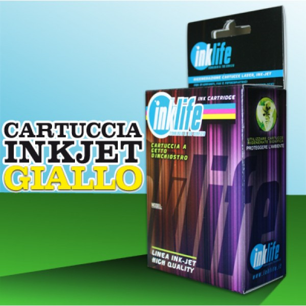 Compatibile Inklife Brother LC 123XL Giallo   10 ML