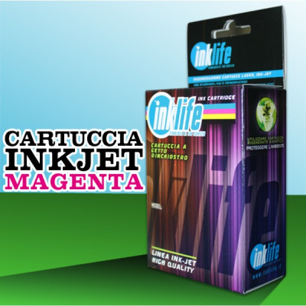 Compatibile Inklife Brother LC 900 Magenta - 25 ML