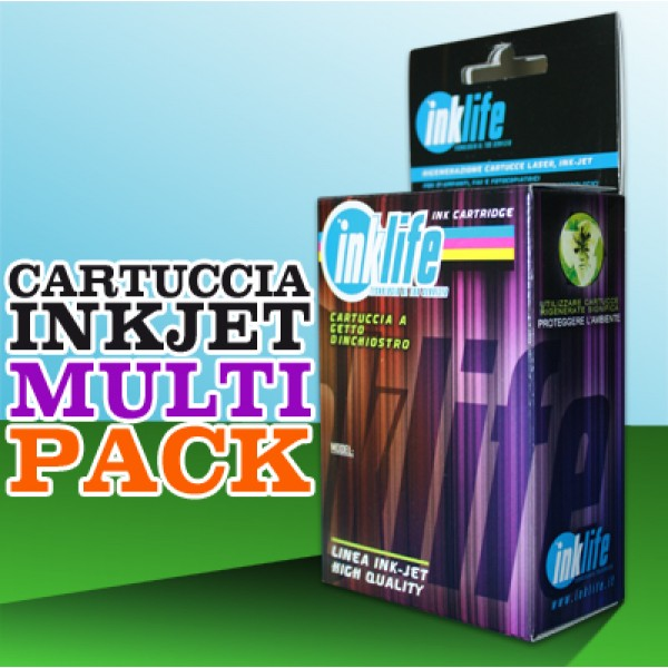 Compatibile Inklife Brother LC 1100 Multipack  4 Colori