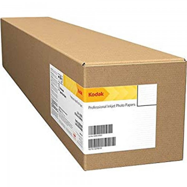 Kodak - Rotolo Carta Fotografica Plotter Inkjet Lustre - 610 mm x 30,5 mt - 255 gr - KPRO24L