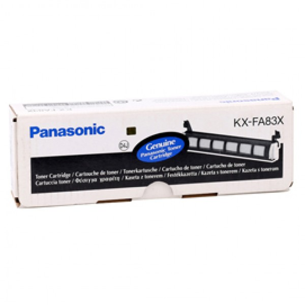 Panasonic - Toner - Nero - KX-FA83X - 2.500 pag