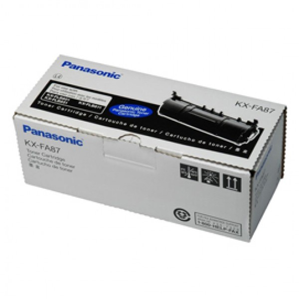 Panasonic - Toner - Nero - KX-FA87X - 2.500 pag