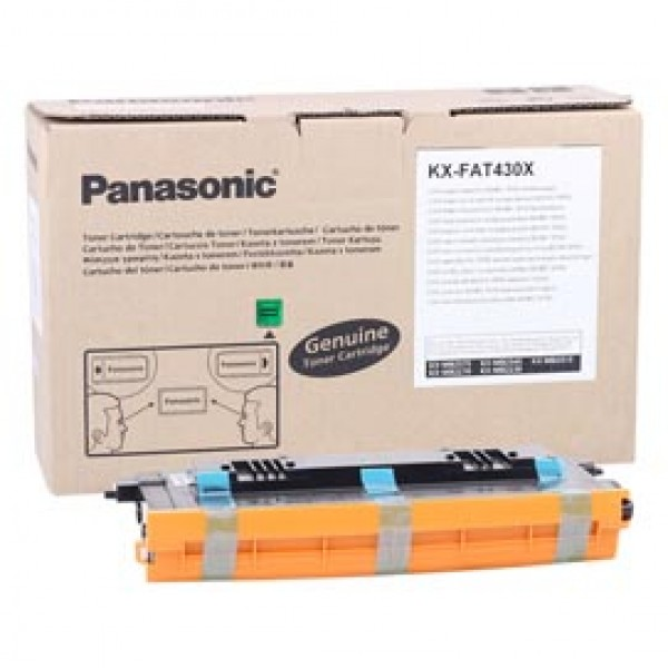 Panasonic - Cartuccia - Nero - KX-FAT430X - 3.000 pag