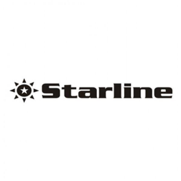 Starline - Nastro nylon  Nero - per Oki ml 183/192/193/320/390