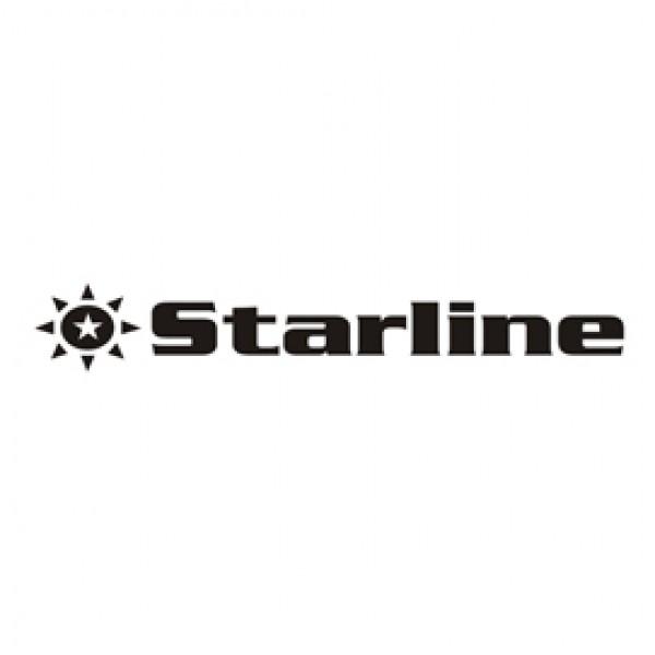 Starline - Nastro - nylon Nero - per Seikosha sp800/1000