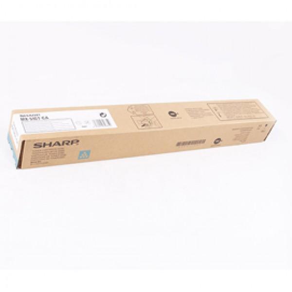 Sharp - Toner - Ciano - MX51GTCA - 18.000 pag