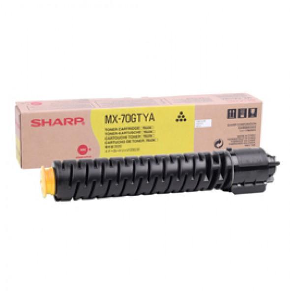 Sharp - Toner - Giallo - MX70GTYA - 32.000 pag