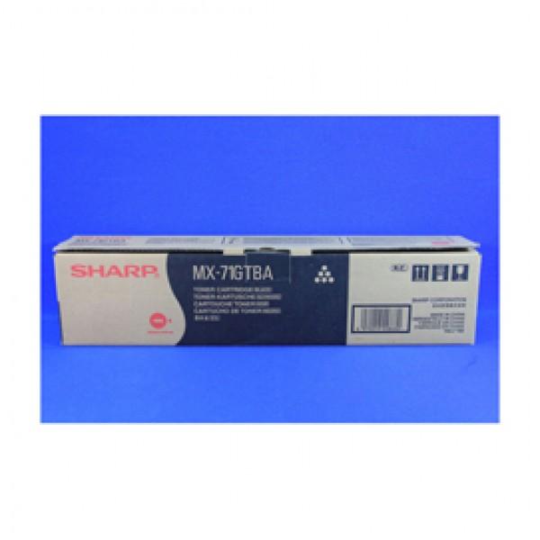 Sharp - Toner - Nero - MX71GTBA - 42.000 pag