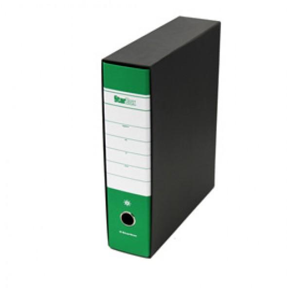 Registratore Starbox sfuso - dorso 8 cm - protocollo 23x33 cm - verde - Starline