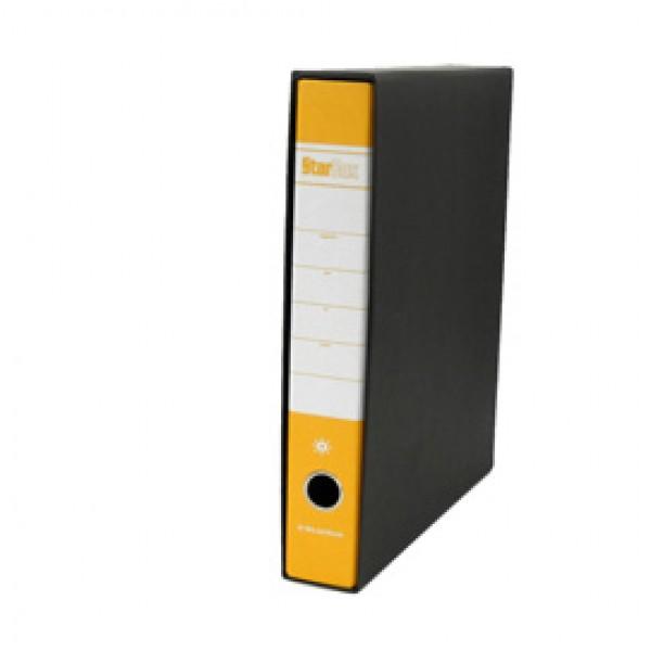 Registratore Starbox - dorso 5 cm - protocollo 23x33 cm - giallo - Starline