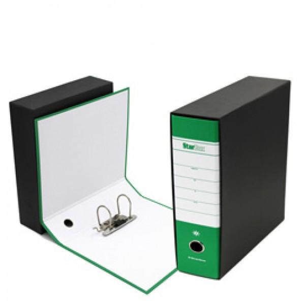 Registratore Starbox - dorso 8 cm - commerciale 23x30 cm - verde - Starline