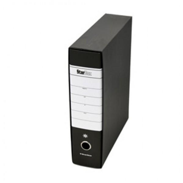 Registratore Starbox - dorso 8 cm - protocollo 23x33 cm - nero - Starline