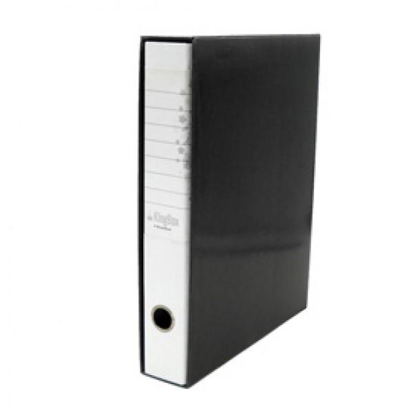 Registratore Kingbox - dorso 5 cm - protocollo 23x33 cm - bianco - Starline