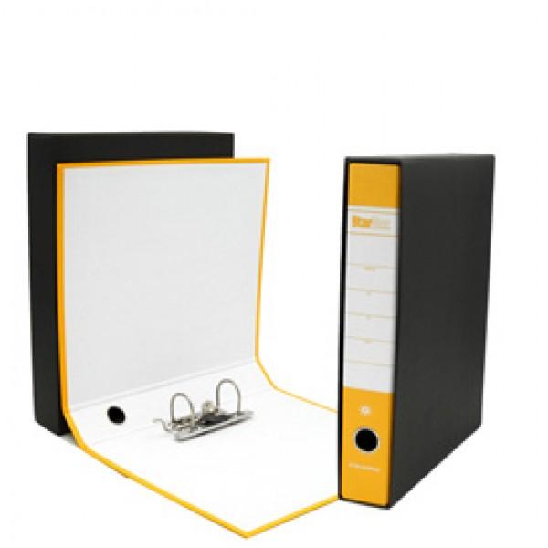 Registratore Starbox - dorso 5 cm - commerciale 23x30 cm - giallo - Starline