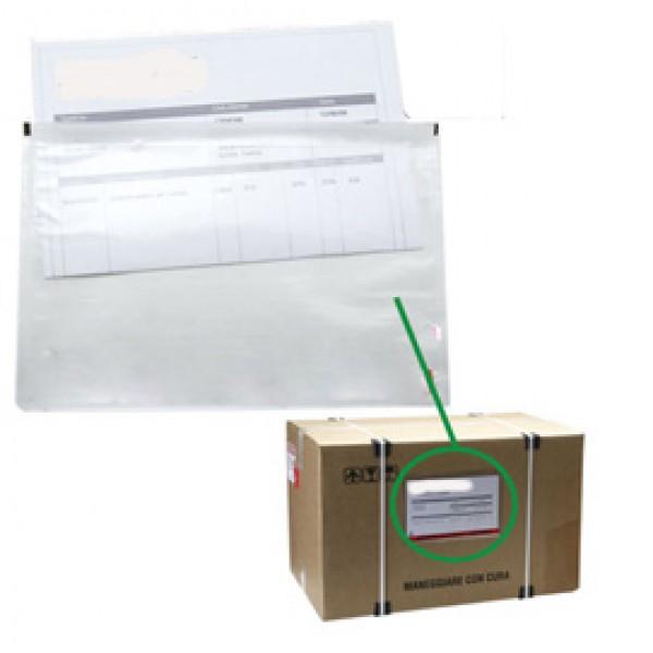 Busta portadocumenti adesiva - 175 x 130 mm - Starline - conf. 100 pezzi