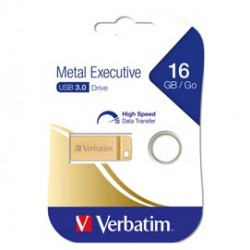 METAL EXECUTIVE USB32.0 DRIVE GOLD 16GB